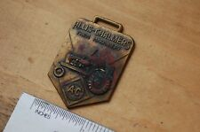 AC ALLIS CHALMERS FARM MACHINERY Tractor Vintage Watch Fob old brass collectable