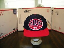 CLEVELAND INDIANS RARE CHIEF WAHOO LEE SPORT SNAP BACK CAP HAT OFFICIAL MLB NWT