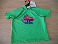 Boy's Size 1 Target green rash vest   BNWT