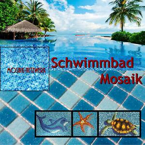 Schwimmbadmosaik Pool Mosaik Fliesen Schwimmbadfliesen Mosaikmatte Mosaikplatte