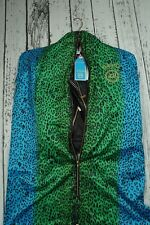 NEW VERSACE H&M MENS JACKET COAT BIKER LEATHER 100% AUTHENTIC SIZE S VERY SMALL