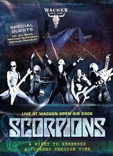 """SCORPIONS """"LIVE AT WACKEN OPEN AIR"""" DVD NEUWARE"""