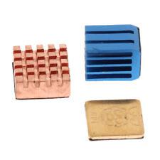 3 Pcs / Set Cuivre Dissipateur de Chaleur Refroidissement Refroidisseur Kit