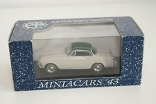 FF 1:43 MINIACARS 43 99.01 SIMCA 9 COUPE 1953 IVORY WITH GREEN ROOF MINT BOXED