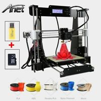 2018 Anet A8 3D Printer High Precision Reprap i3 DIY Kit & LCD2004 & 8G SD CARD