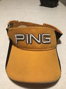 Ping Golf Visor Hat Cat Sports Visor Golfing Hat Ping C33