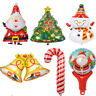 Aluminum Xmas Film Santa Claus Balloon New Year Christmas Party Decor LIN