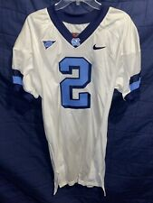 Nike North Carolina Tar Heels UNC Football Team Issued Jersey #2 Size 48