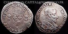 Henri II 1/2 Franc 1559L Teston