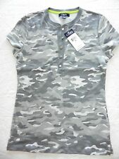 WOMENS camo BLOUSE SHIRT TOP = CHAPS = SMALL = new $49 = ss26