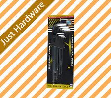 Long Arm Ball end Allen Allan wrench Hex Key Wrench Set NEW 9pcs 1.5 - 10mm