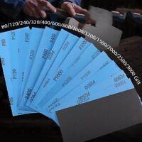 9 x 11'' Wet and Dry Sandpaper  800- 2000 3000 5000 7000 Grit Sanding Paper