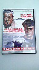 "DVD ""GRAN JUGADA EN LA COSTA AZUL"" HENRI VERNEUIL ALAIN DELON JEAN GABIN"
