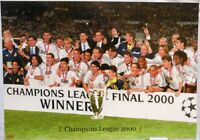 Real Madrid + Champions League Winner 2000 + Fan Big Card Edition A173 +