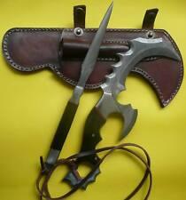 Custom made Knife king's Damascus Karambit with Throwing Pin knife