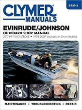 Evinrude Johnson Moteur hors-bord 40 48 50 60 70 HP Owners Manuel de réparations Handbook