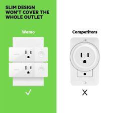 Wemo Mini Smart Plug, WiFi Enabled, Works W/ Alexa & Google Assistant