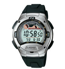 Casio W753-1AV, Tide Graph/Moon Phase Watch,Resin Band, 5 Alarms,10 Year Battery