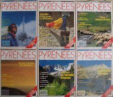 Lot/6 Pyrénées magazine avec n°1 - 2 - 4 - 5 - 10 - 11 / Pau  Andorre Cauterets