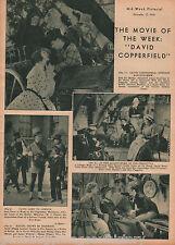 David Copperfield Movie Review + Genealogy 1934