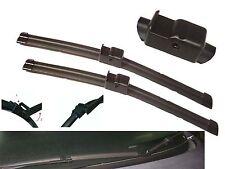 "Aero Front Window / Windscreen Flat Car Wiper Blades 21"" 19"" Side Pin Fitting"