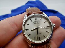 VINTAGE 1979 ROLEX 5500 AIR KING OYSTER PERPETUAL PRECISION  HACKING MOVEMENT