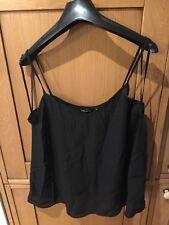 New Look Black Vest Top Size 14 BNWT