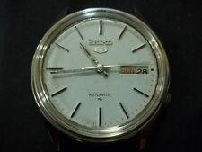 097 Seiko 7009 Automatic Self Winding Mechanical Used Vintage men rare Watch