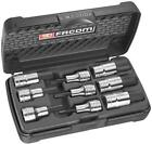 Facom Fcmstmj9 Stm.j9 Socket Set of 9 Hex Bit 1 2in Drive