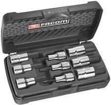 """Facom 1/2"""" Drive Métrique Hexagonal Clé Hexagonale 9pc Socket Set STM.J9 5 mm à 19 mm"""
