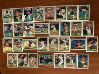 1991 OAKLAND ATHLETICS Topps 40th COMPLETE Baseball Team Lot 31 Cards HENDERSON!