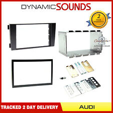CT23AU03 Double DIN Car CD Fascia Surround Panel Fitting Kit For Audi A6 2001-04