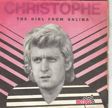 """7"""" 45 TOURS FRANCE BOF/OST """"La Route De Salina"""" CHRISTOPHE """"The Girl From"""" 1970"""