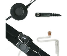ARC T25023 Neck Strap Throat Mic for Midland Maxon SP SL Series 2-Way Radios