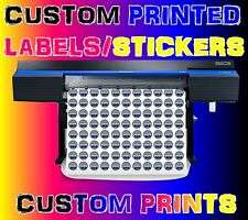 Custom Sticker Printing your Design Vinyl Contour Cut Any Shape Business Labels
