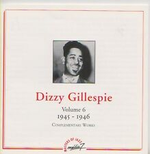DIZZY GILLESPIE  CD  VOLUME 6  1945 - 1946 COMPLETE EDITION