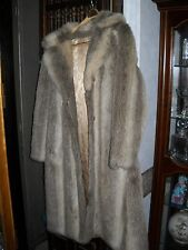 VTG FULL LENGTH RABBIT FUR ? COAT