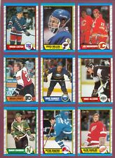 1989-90 OPC O PEE CHEE NHL HOCKEY CARD 111-220 SEE LIST