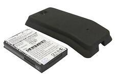 Battery for HTC Hero Extended & Black Color Back Cover 2200 mAh Li-ion HDE190BHL
