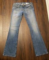 Women's/Junior's Azure Denim Jeans ~ Blue ~ Sz 27W x 33L ~ Perfect Fit ~Boot Cut