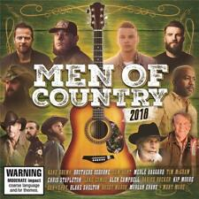 MEN OF COUNTRY 2018 VARIOUS ARTISTS 2 CD NEW