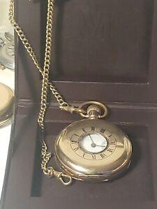Fantastic Waltham Mass Gold plated Gents Half Hunter Pocket Watch Circa1920