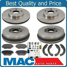 Brake Kits New Front Rotors Ceramic Brake Pads Brakes Shoes & Springs for Toyota Rav4 03-05