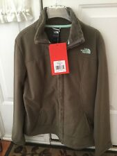 New The North Face Women's Morningside Full Zip Jacket - Weimaraner Brown - SZ L