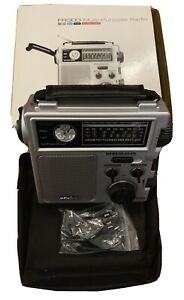 Eton FR300 AM/FM Emergency Radio Weather Alert, Flashlight, TV-VHF Multi-Purpose