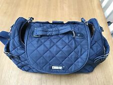 storksak poppy navy blue changing bag - EXCELLENT CONDITION