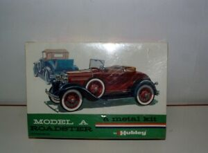 * HUBLEY ( METAL ) MODEL KIT # 4850 MODEL A ROADSTER DIE-CAST MINT SEALED BOX