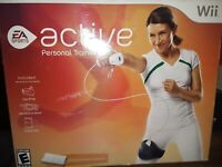 Active Personal Trainer 3 games EA Sports Nintendo Wii. Complete, mint!