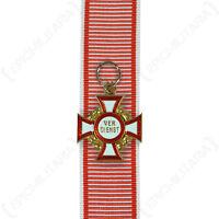 Austrian Military Merit Cross - 3rd Class with War Decoration Medal Award Repro