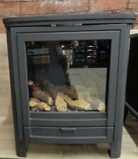 Gallery Darwin Conventional Flue Gas Stove Log Effect 4kW Black